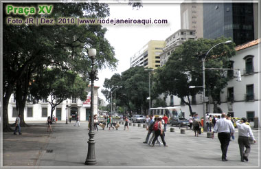 XV Square and 1º of March Street