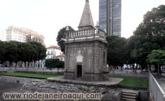 Historic Foutain at Praça XV