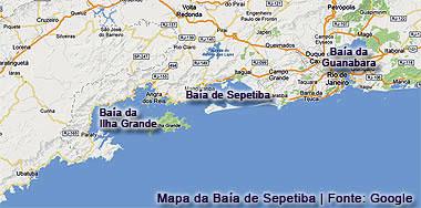 Localização da Baía de Sepetiba