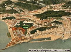 Centro do Rio em 1873