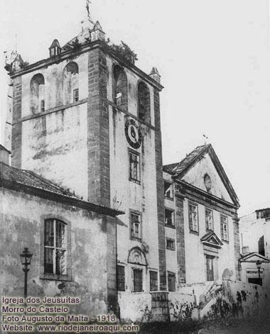 Igreja dos Jesuitas no Morro do Castelo