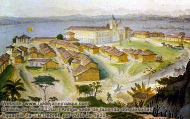 Palácio de Santa Cruz - Antiga sede de fazenda dos Jesuítas