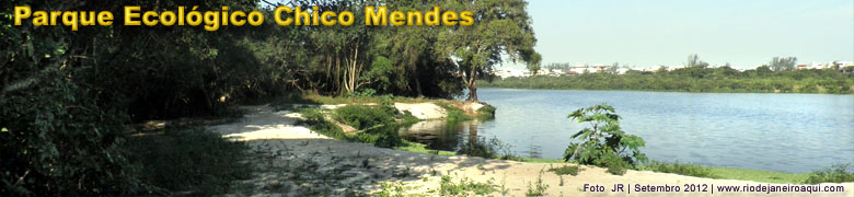 Margens e lagoa do Parque ecolológico natural do Recreio do Bandeirantes
