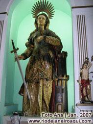 Santa Bárbara - Capela da Fortaleza de Santa Cruz