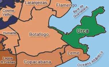 Rio De Janeiro Mapa Bairros.Urca Bairro Do Rio De Janeiro