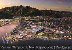Parque Olímpico do Rio de Janeiro para 2016